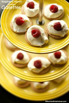 Raspberry Lemon Cream Galettes | ReluctantEntertainer #CincodeMayo