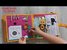 Quiet Book for Amálka (without felt) This Book, Felt, Youtube, Books, Handmade, Baby, Livros, Hand Made, Feltro