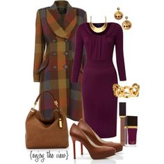 Simple tips to look more stylish in your work clothes Classy Outfits, Chic Outfits, Fall Outfits, Fashion Outfits, Womens Fashion, Fashion Trends, Fashion Ideas, Work Fashion, Modest Fashion