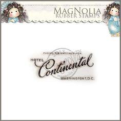 Magnolia Rubber Stamp - SM13 Hotel Continental