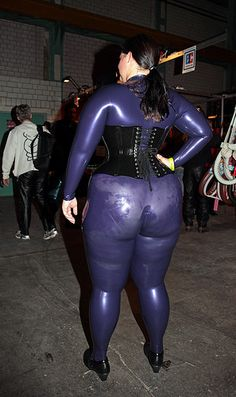Bbw Latex Ass