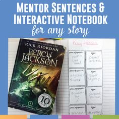Mentor sentences from to kill a mockingbird pinterest mentor mentor sentences and interactive notebook activities fandeluxe Gallery
