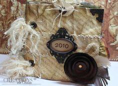 BlueMoon Scrapbooking: Guest Designer Christina Melissa Frances Album