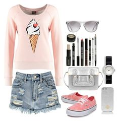 """""""#IceCream"""" by ellen2104 ❤ liked on Polyvore featuring ONLY, Boohoo, Vans, Tory Burch, Lord & Berry and Oliver Peoples"""