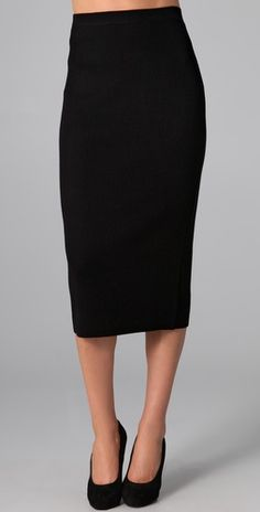 Blouse and long pencil skirt | Work outfits | Pinterest | Pencil ...