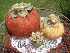 Fabric  Fall Harvest Pumpkins by creekwatercottage on Etsy, $53.00