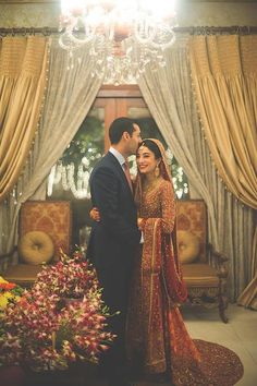 Just cuz this is just sooo beautiful!! Sighhhh! Everything is sooo perfect.. The couple, their outfits, the decor around! Puurrfect