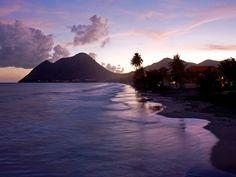 Martinique, la femme couchée