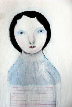 Snow Lady by Maidolls, via Flickr