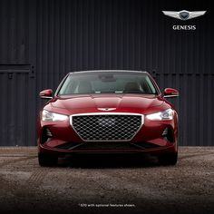 Innovative fashion makes a bold statement and reflects who you are. The Genesis G70 does both exceedingly well. With its stylish, sweeping exterior lines, available double-stitched quilted seats, aluminum trim and a 15-speaker Lexicon® Quantum Logic® Surround Sound Audio System, you know, like the best fashion, the Genesis G70 keeps the focus exactly where it belongs. On you. Mazda, Infinity, Infinite