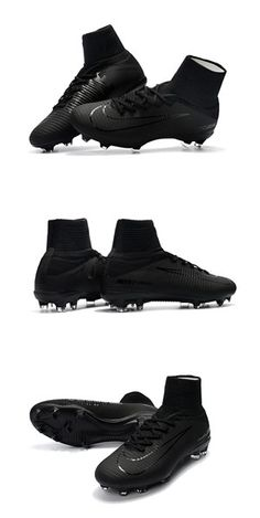 the latest 7ef6a 0d6c8 Nike Mercurial Superfly 5 FG ACC Alle schwarzen Fußballschuhe – Soccer –  Join the world of pin