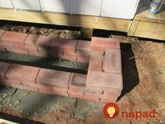 How To Make A Paving Stone Planter Box ! how to make a paving stone planter box, concrete masonry, c Brick Planter, Stone Planters, Wood Planter Box, Window Planter Boxes, Raised Planter, Diy Planters, Garden Planters, Garden Paving, Garden Junk