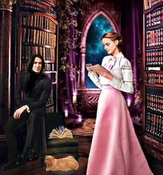 Snape And Hermione, Alan Rickman Severus Snape, Boys Don't Cry, Julie Andrews, Renaissance Dresses, Chronicles Of Narnia, Vampire Academy, Hallmark Movies, Green Gables