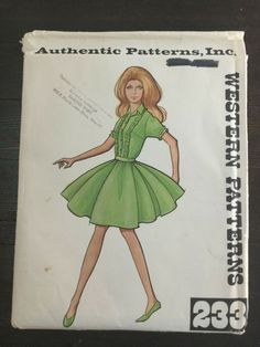 Authentic Patterns Western 223 Two-Piece Square Dance Outfit Dress Sz 16 Cut Square Dance, Dress Outfits, Dresses, Westerns, Disney Characters, Fictional Characters, Sewing Patterns, Aurora Sleeping Beauty, Clothes For Women