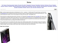 #Website: #Movies  Movies are produced by recording actual people and objects with cameras, or by creating them using animation techniques and (or) special effects. Movie is considered to be an important art form; films entertain, educate, enlighten and inspire audiences.  Film is considered by many to be an important art form; films entertain, educate, enlighten and inspire audiences. The visual elements of cinema need no translation, giving the motion picture a universal power of…