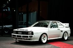 Some Cars just scream aggression. quattro