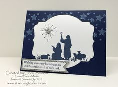 Every Blessing, Perpetual Birthday Calendar (stars in the background), Silver Glimmer Paper, Labels Collection Framelits, Itty Bitty Accents Punch Pack (star)