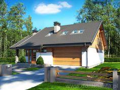 Projekt domu Maja II 2G - wizualizacja 2
