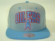Mitchell and Ness NFL Houston Oilers Arch Gray 2 Tone Retro Snapback Cap by Mitchell & Ness. $28.99. Original Mitchell and Ness Sanpback Cap NBA Vintage Snapback Cap Authentic NFL 2 Tone Color