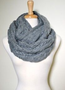 I've been looking for a gray cable knit scarf... find more women fashion ideas on www.misspool.com