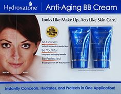 Hydroxatone AntiAging BB Beauty Balm Cream Universal Shade for ALL Skin Types SPF 40 BONUS Pack of 2 15 ounce bottles * Want additional info? Click on the image. (It is an affiliate link and I receive commission through sales)