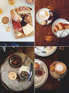 Copenhagen breakfast from Guide til København - Spisesteder i København - The Food Club (in Danish)