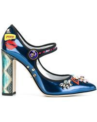 Dolce & Gabbana   Bellucci Mary Jane Pumps   Lyst