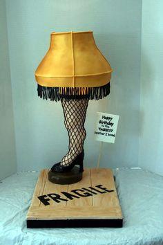 Leg Lamp Cake....a christmas story