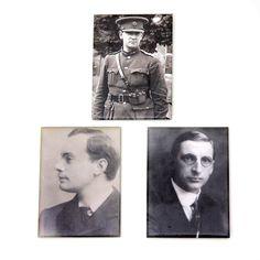 Irish Revolutionaries magnet set €10.00 Michael Collins, Eamon De Valera and Patrick Pearse.