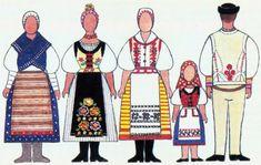 Folk Costume, Costumes, Folk Embroidery, Mesto, Regional, Fashion, Moda, Dress Up Clothes, Fashion Styles