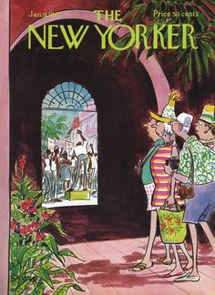 The New Yorker - Saturday, January 9, 1971 - Issue # 2395 - Vol. 46 - N° 47 - Cover by : Charles Saxon