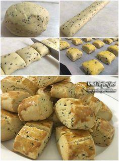 Çörek Otlu Rulo Kurabiye Tarifi