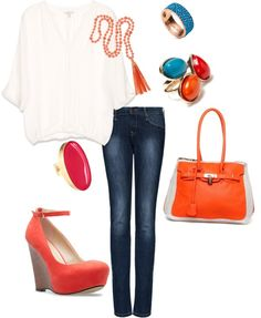 cute but casual, created by emilyisenberg on Polyvore