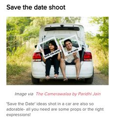 Who knew that a car makes such a great prop for a pre wedding shoot? Here are some of the cutest, hottest, most adorable pre wedding shoots. Pre Wedding Poses, Wedding Couple Poses Photography, Pre Wedding Shoot Ideas, Indian Wedding Photography, Pre Wedding Photoshoot, Wedding Photo Hacks, Wedding Pics, Wedding Humor, Post Wedding