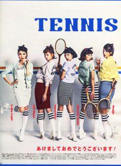 Stripe Knee-High Socks in ViVi Magazine, Japan. #AmericanApparel