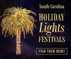 South Carolina Holiday Lights Festivals