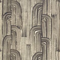 Amazing ebony/cream contemporary indoor wallcovering by Groundworks. Item GWP-3304.816.0. Lowest prices and fast free shipping on Groundworks. Featuring Thomas O'Brien Fabric. Search thousands of luxury wallpapers. Width 27 inches. Sold by the roll.