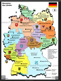 map of germany the lander