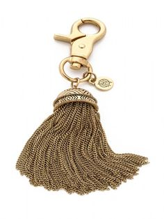 House of Harlow 1960 Jewelry Chainette Keychain