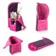 Makeup Bag Necessities as Makeup Vanity Stool outside Makeup Brushes Needed up Makeup Brushes For Cheap one Makeup Revolution Jelly Highlighter Pencil Case Tutorial, Cute Pencil Case, Sewing Hacks, Sewing Crafts, Sewing Projects, Cardboard Dollhouse, Ideias Diy, Diy Purse, Craft Bags
