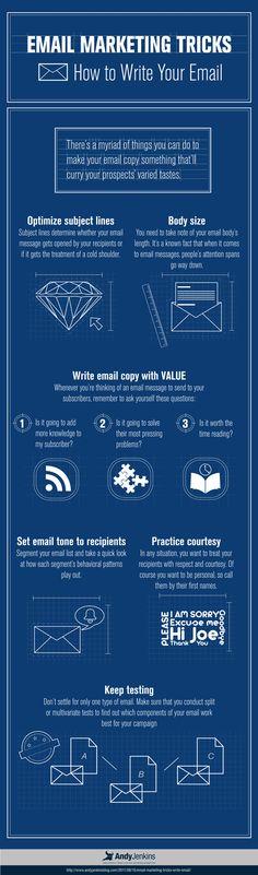 Cómo crear un email adecuado para email marketing