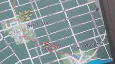 Simcoe map