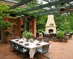 Mediterranean Design backyard