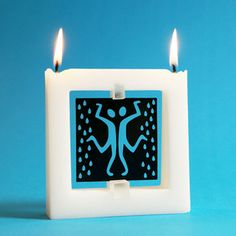Quadra Story Rain Candle now featured on Fab.