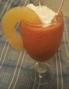 Homemade Strawberry and Mango Daiquiri
