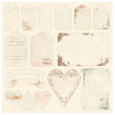 From my Heart II is a collection simply bursting with love. It's a celebration to Valentine's day as well as a collections suited for all kinds of paper crafting aimed for someone speci…