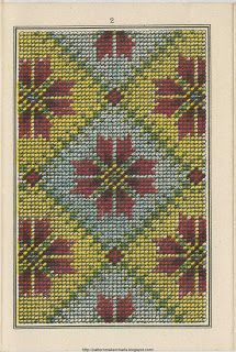 Free Easy Cross, Pattern Maker, PCStitch Charts + Free Historic Old Pattern Books: Sajou No 310