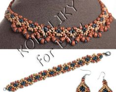 Este artículo no está disponible Seed Bead Necklace, Seed Beads, Beaded Necklace, Ethnic, Handmade Jewelry, Clay, Natural, Bracelets, Earrings