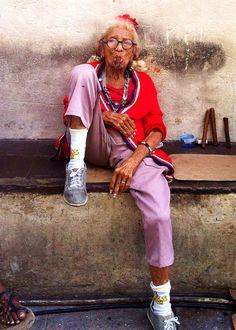 "Graciela is The ""Old Lady of Havana, Cuba"""