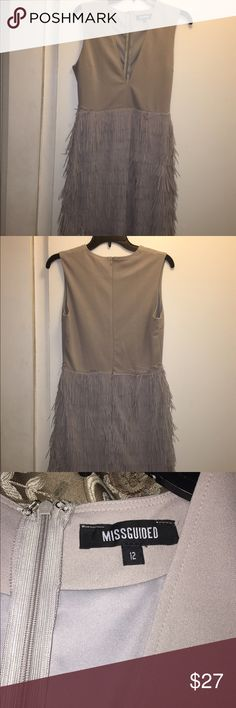 Selling this Fringed Dress on Poshmark! My username is: foxybrown1205. #shopmycloset #poshmark #fashion #shopping #style #forsale #Misguided #Dresses & Skirts
